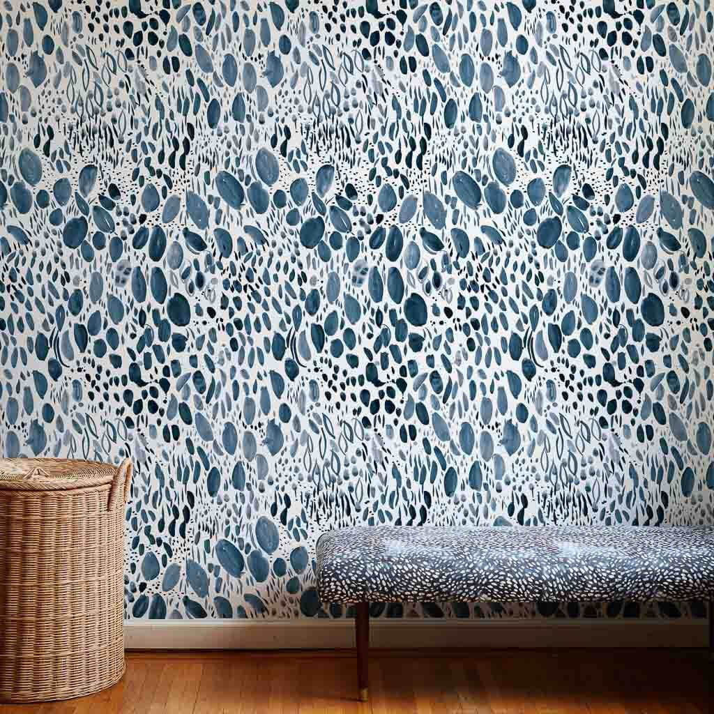 Blooms Wallpaper by Rebecca Atwood