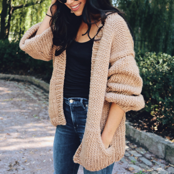 ashley knit cardigan by Third Piece