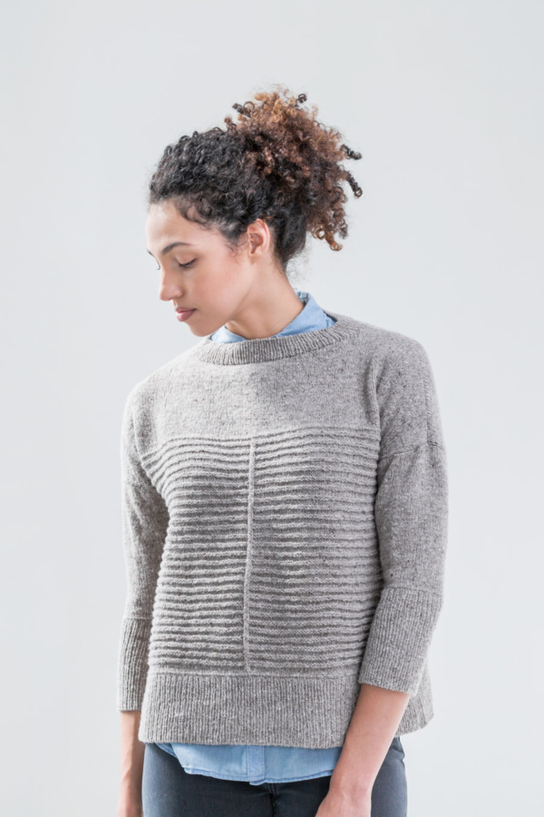knit pullover sweater by Brooklyn Tweed